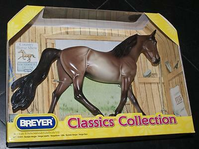 neuf CLASSICS COLLECTION Horse cheval BREYER MORGAN ISABELLE échelle 1:12
