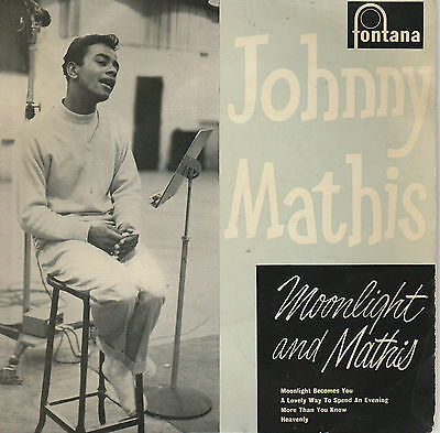 JOHNNY MATHIS Moonlight and Mathis 4 track EP