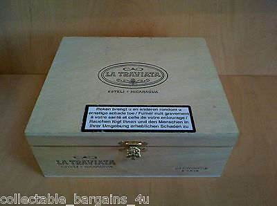 Wooden Cigar Box from Nicaragua 771