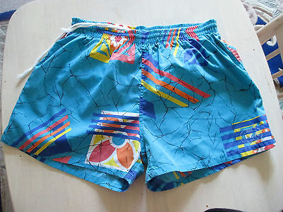 "Mens IZA PACIFIC vintage  Beach Bum  Swimming  Shorts nylon lined  28-30"" waist"