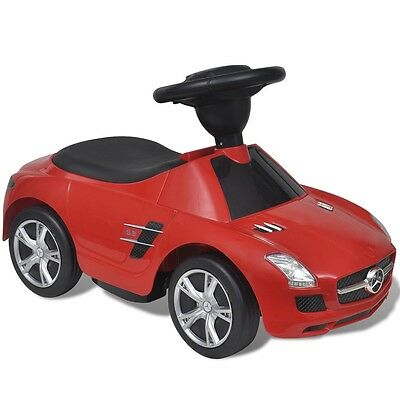 New Ride-on Car Mercedes Benz SLS AMG Red Push Along Children Kids Outdoor Toy