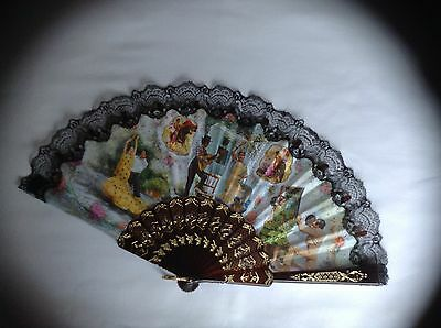Collectable Hand Fan Spanish Style