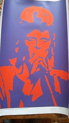 David Bowie Ziggy Stardust Print/Poster signed by artist Peter Marsh (51 x 69cm)