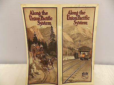 """""""Along the Union Pacific System""""  Railroad Travel Pamphlet/Booklet 1920-30's"""