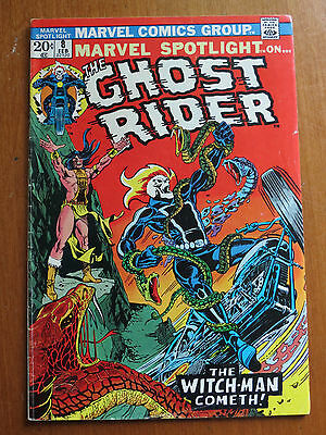 Marvel Spolitght #8 The Ghost Rider  FN + Nice Wow DC