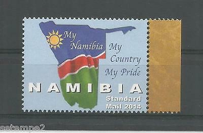 My Namibia My Country My Pride - Fahne 2014 postfrisch siehe Scan