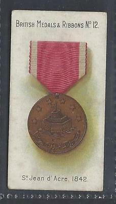 Taddy - British Medals & Ribbons - #12 St Jean D'acre, 1842