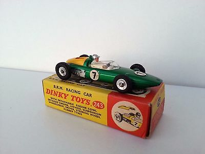 Dinky Toys 243 Brm Racing Car Excellent With Box - All Original