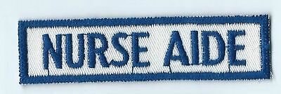 Nurse Aide patch 1 X 4