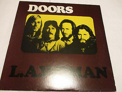 """The Doors """"L A Woman"""" A1 First Press Embossed Sleeve 1971 Uk Pressing 12"""" Vinyl"""