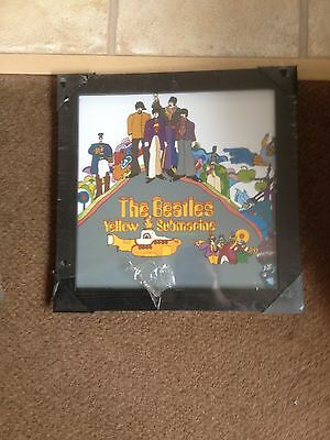 The Beatles - Yellow Submarine Framed Picture