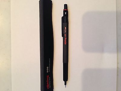 Rotring 600 Mechanical Pencil Black FREE SHIPPING