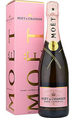 Moet & Chandon Rosé Imperial Rose Champagner 0,75 L