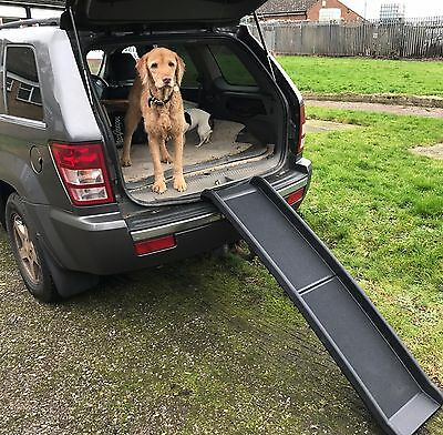 Dog pet ramp for cars by Doghealth weighs 11lbs supports 200lbs