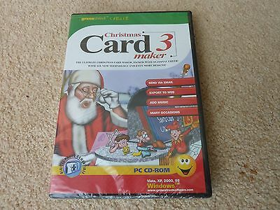 Christmas Card Maker PC CD-ROM
