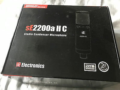 sE Electronics 2200A II (c) Cardioid only shock mount included