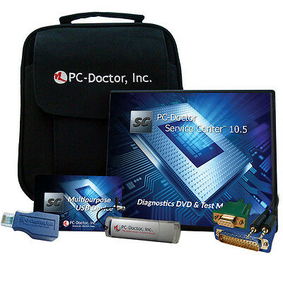 PC-Doctor Service Center 10.5 PC, Mac & Android Diagnostics Kit
