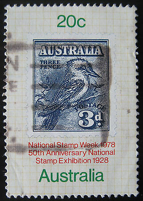 National stamp week stamp from 1978, SG 694