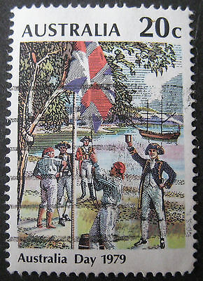 Australia Day stamp from 1979, SG 703