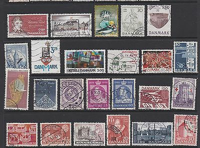 Denmark. Mixed collection of stamps
