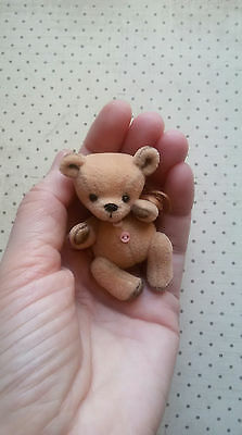 miniature teddy bear baby Cathie 2,2 inches minishtof