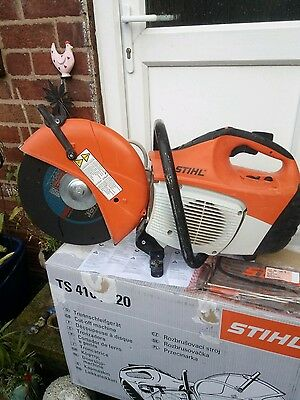 stihl ts410 2016 excellent