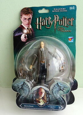 Harry Potter OOTP Argus Filch with Mrs Norris & Lantern Figure MOC