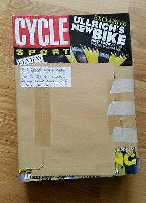 2004 Cycle Sport Magazines : Full Year : 12 Editions