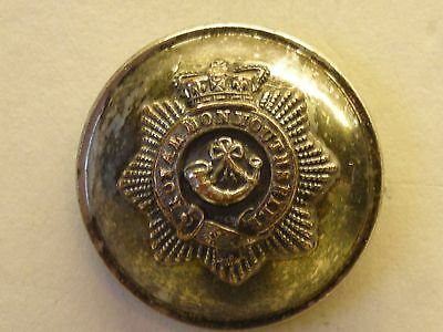 Royal Monmouthshire Light Infantry Militia Regiment Military Button.