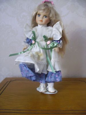 "Windsor Collection Porcelain Doll 12""/300mm tall"
