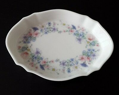 "Vintage Wedgewood bone china ""Angela"" oval dish"