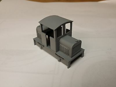 009 OO9 centre cab diesel locomotive body