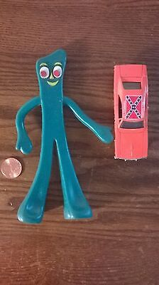 Gumby by TrendMaster and The General From The Dukes of Hazzard 1981