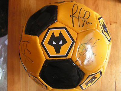 Wolverhampton Wanderers Wolves Signed Football 2004 To 2008