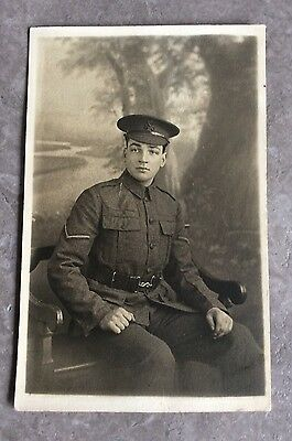 WW1 Postcard Soldier Kings Royal Rifle Corps