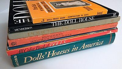 Lot of Doll Books Porcelain Doll Houses Furniture Composition to Vinyl Collector
