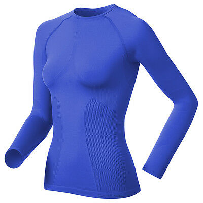 Ladies Odlo Evolution Light Short SS Womens Sports Training Baselayer Top