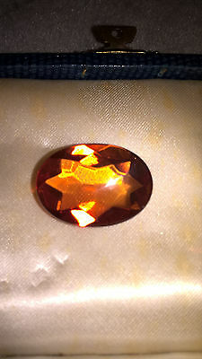 Baltic Amber cabachon faceted gemstone 20X25mm