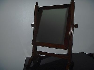 Edwardian Mahogany Toilet/shaving/vanity/dressing Table Mirror