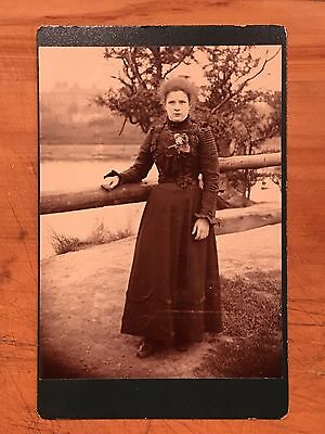 Vintage Photograph Of A Victorian Woman