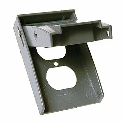 Hubbell-Bell 5027-0 1-Gang Weatherproof Vertical Duplex Receptacle Device Cover,