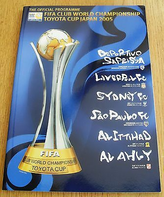 Liverpool 2005 Toyota Cup Fifa Club World Championship Japan Official Programme