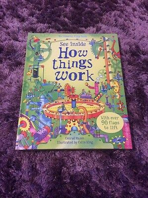 How Things Work - hard back book - New