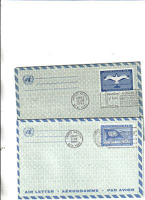 collection of 2 united nations covers