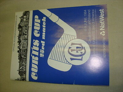 Curtis Cup 1984 programme