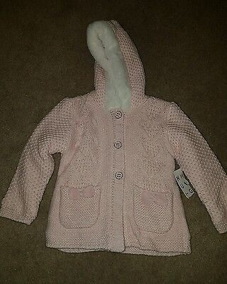 Baby girls BNWTO knit jacket...size 12-18 months