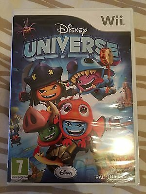 Disney Universe for the Nintendo Wii. Brand New and Sealed. UK PAL
