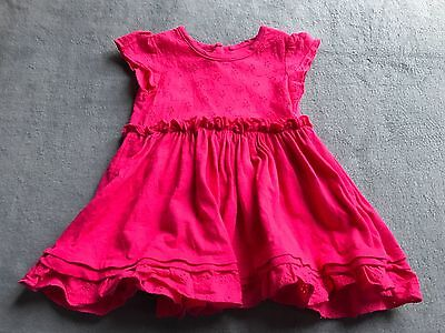 Baby girls clothes next red dress age 3-6 months