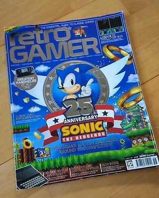 Retro Gamer Magazine Issue 158 - Special Sonic the Hedgehog anniversary edition