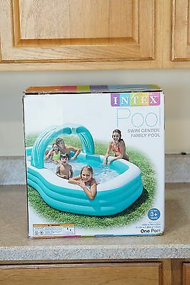 """NEW INTEX Family Inflatable Swimming POOL Inflated size 122"""" X 74"""" X 52"""""""
